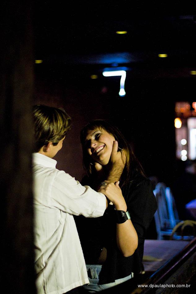 Ensaio dos noivos no Stone Music Bar