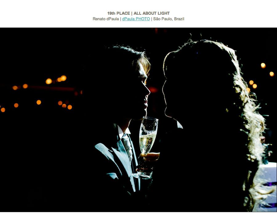ISPWP - Foto premiada na categoria All About Light fotógrafo premiado