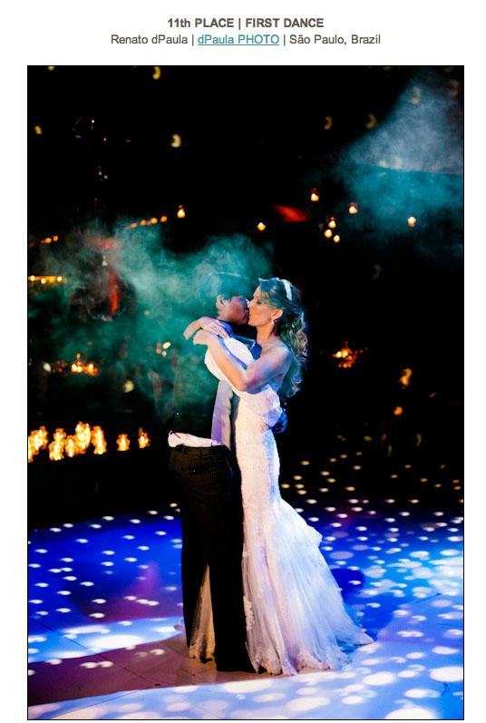 ISPWP - Foto de casamento premiada fotógrafo premiado primeira dança