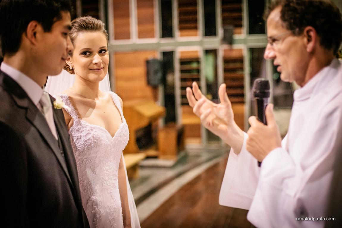 Fotografia de Casamento na Igreja Cruz Torta