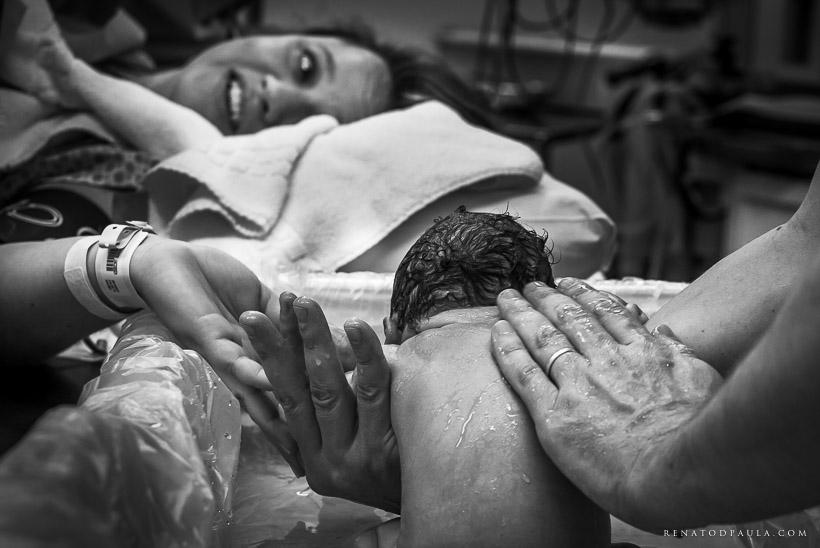 primeiro banho na maternidade