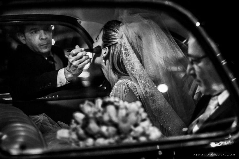 renato dpaula making of da noiva no carro foto de casamento