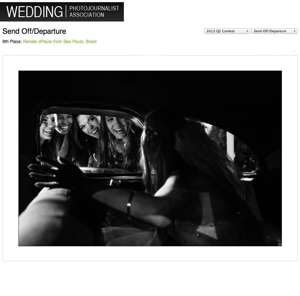 madrinhas da noiva no casamento foto premiada por renato dpaula despedida