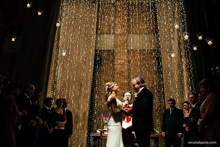 casamento no espaço contemporaneo luz de velas
