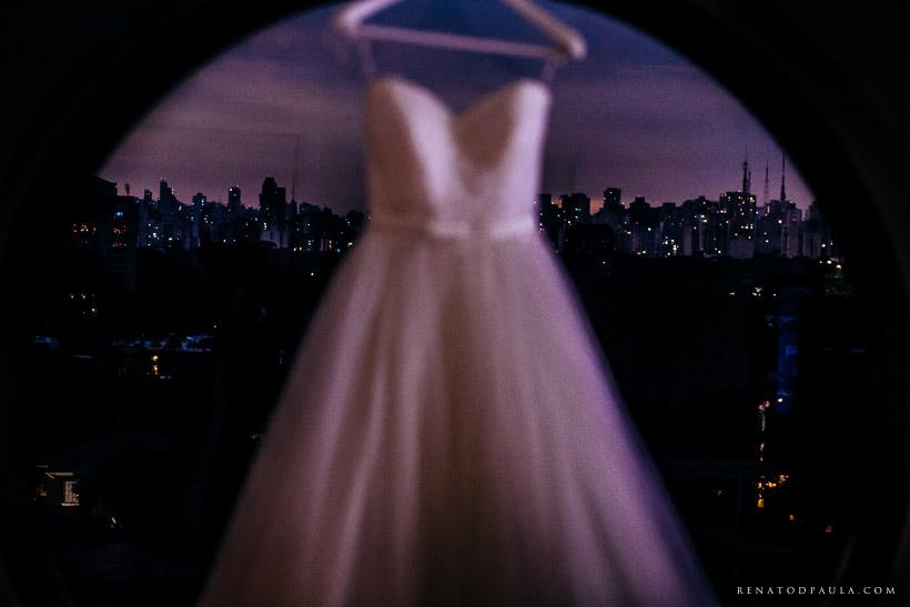 vestido de noiva no hotel unique making of