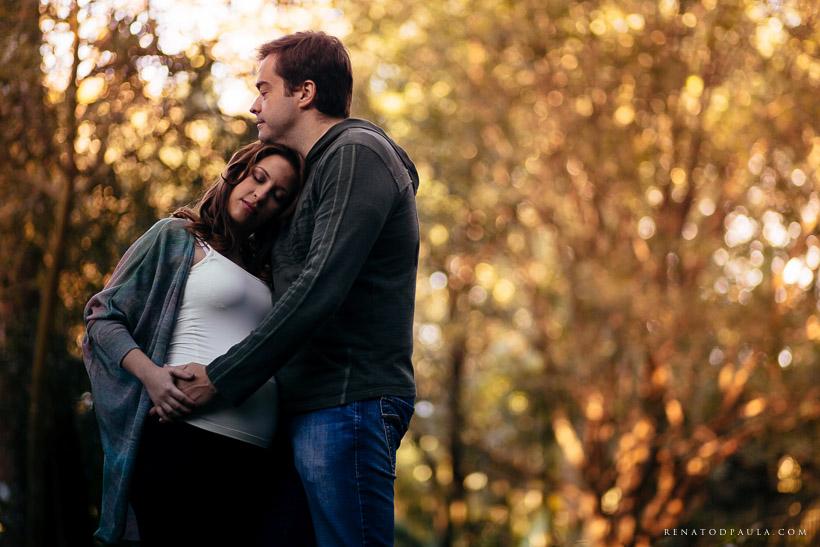 ensaio gestante gravida no parque