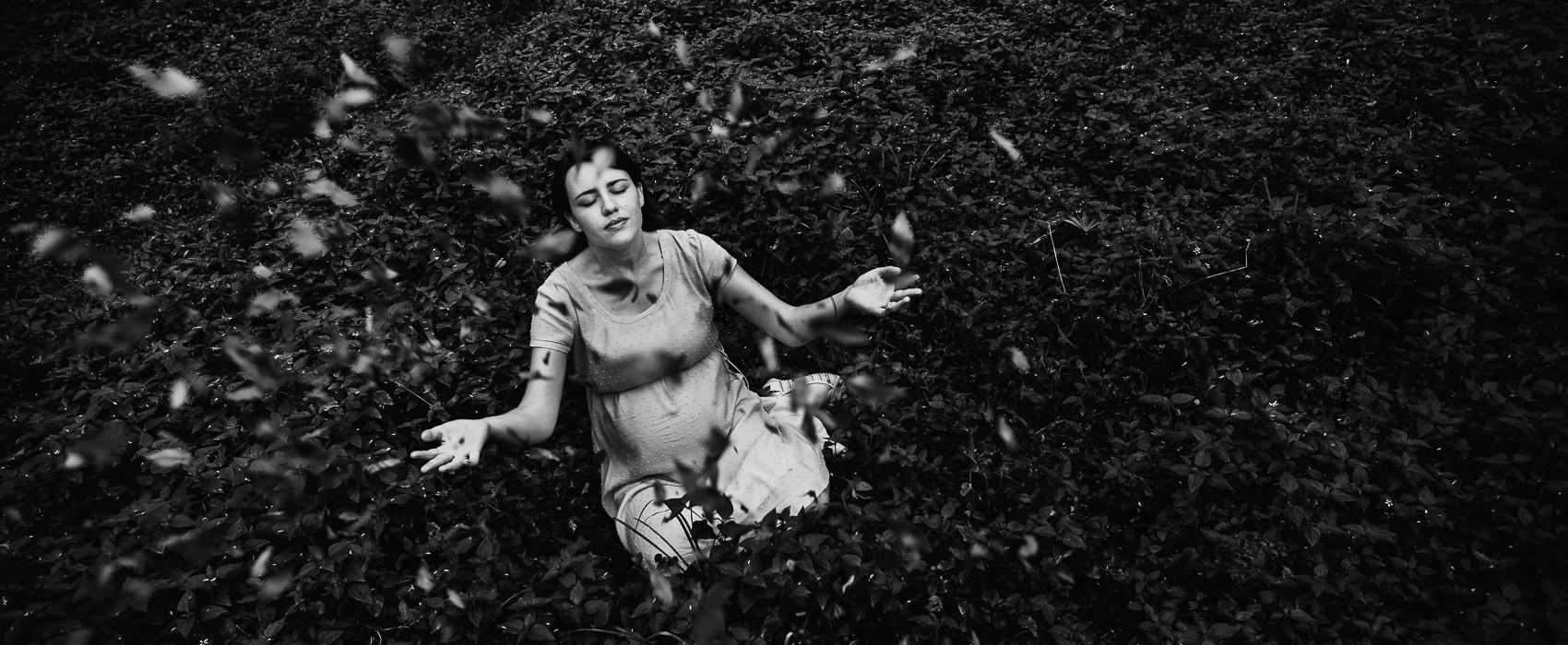 Giselle & Eber + Vivi | Ensaio Gestante