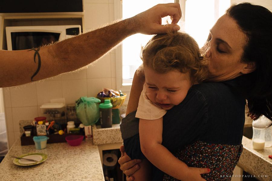 fotografia de família documental criança chorando lifestyle