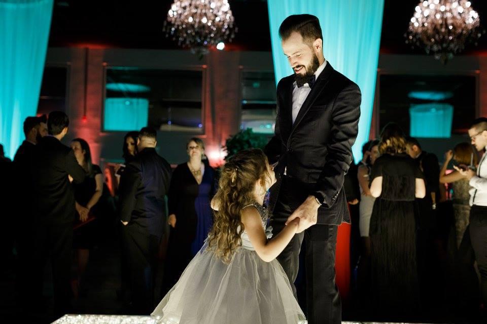 dançando com minha filha