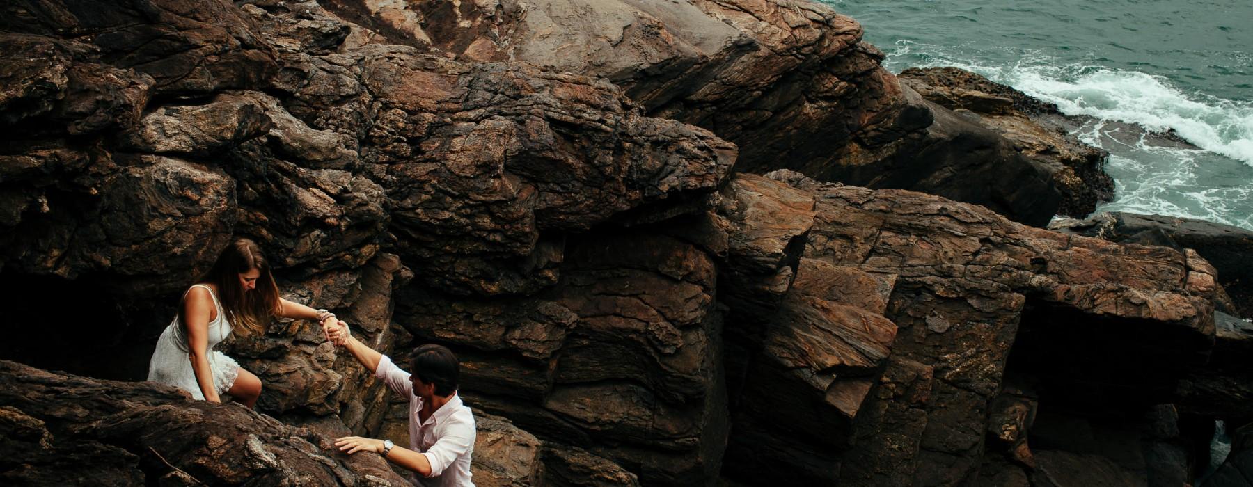 ensaio de casal na praia premiada esession pre-wedding