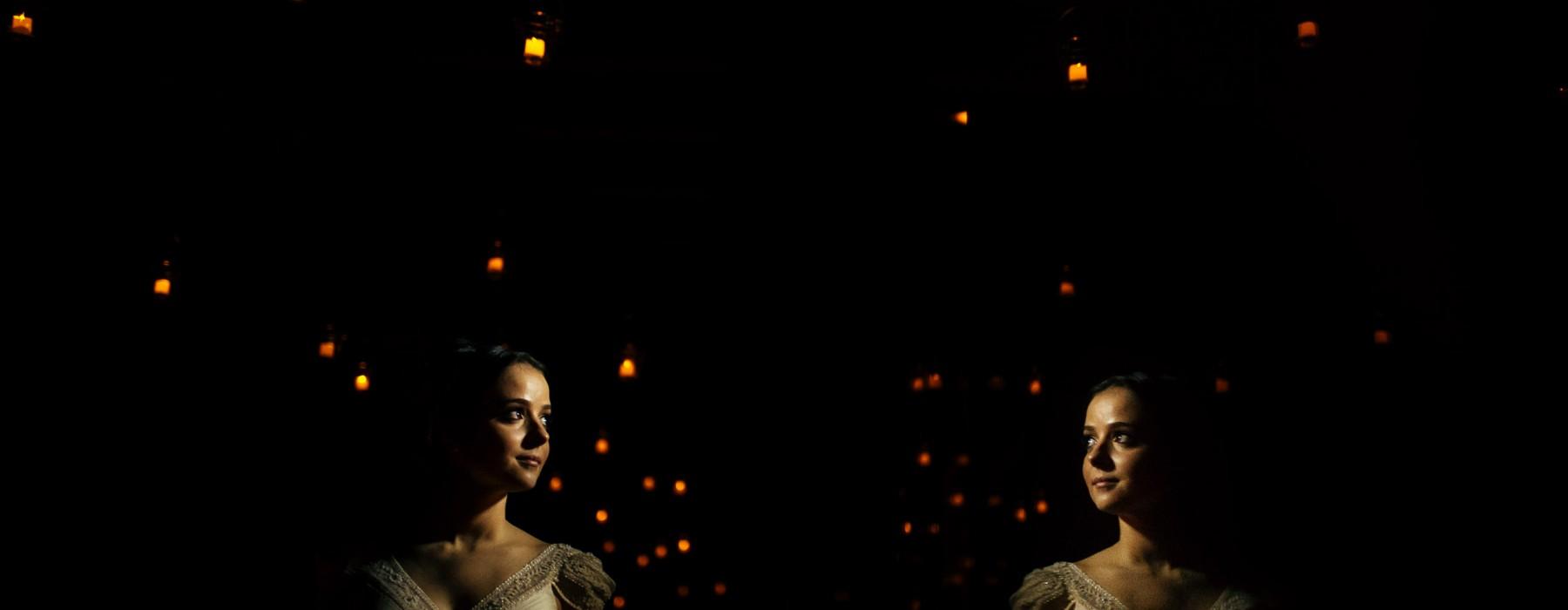 foto artistica de casamento noiva estação são paulo